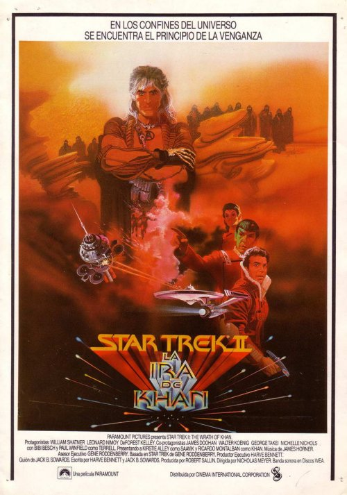 Star Trek II: la ira de Khan : Cartel
