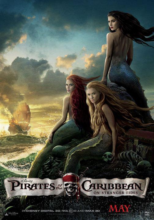 Piratas del Caribe: En mareas misteriosas : Cartel