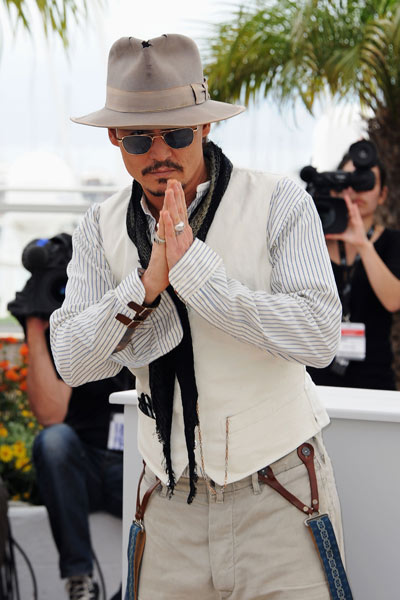 Piratas del Caribe: En mareas misteriosas : Foto Johnny Depp