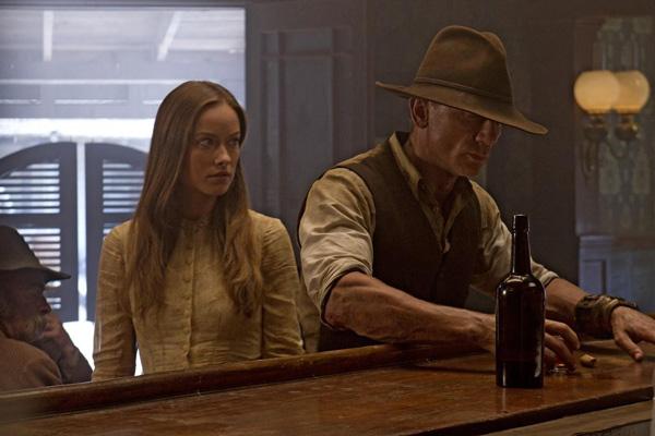 Cowboys & Aliens : Foto Daniel Craig, Harrison Ford, Olivia Wilde