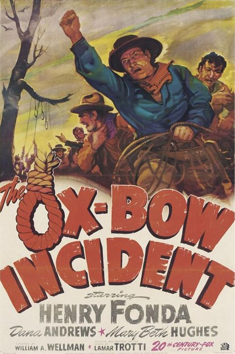 Incidente en Ox-Bow : cartel