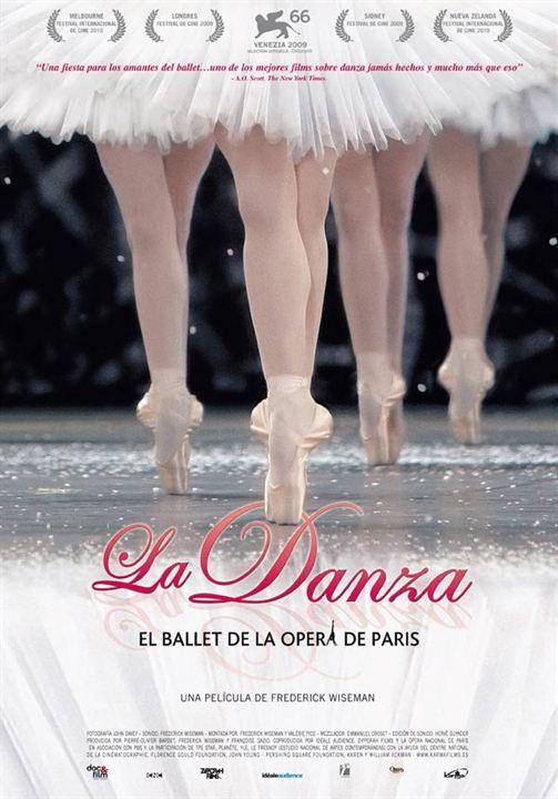 La Danza: El ballet de la Ópera de París : Cartel