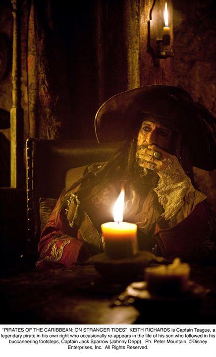 Piratas del Caribe: En mareas misteriosas : Foto Keith Richards