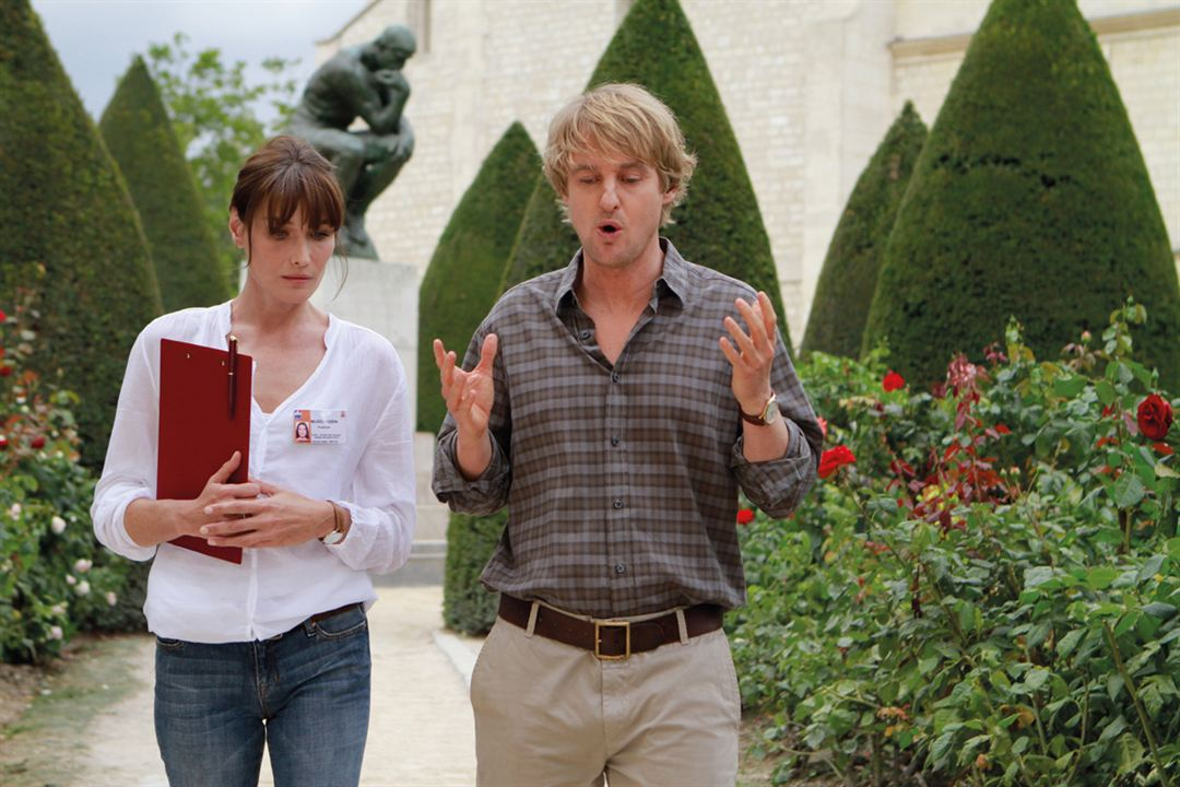 Midnight In Paris : Foto Carla Bruni, Owen Wilson