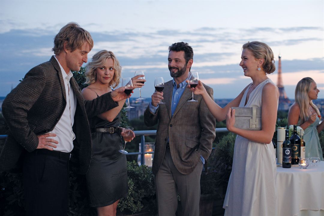 Midnight In Paris : Foto Michael Sheen, Nina Arianda, Owen Wilson, Rachel McAdams, Woody Allen