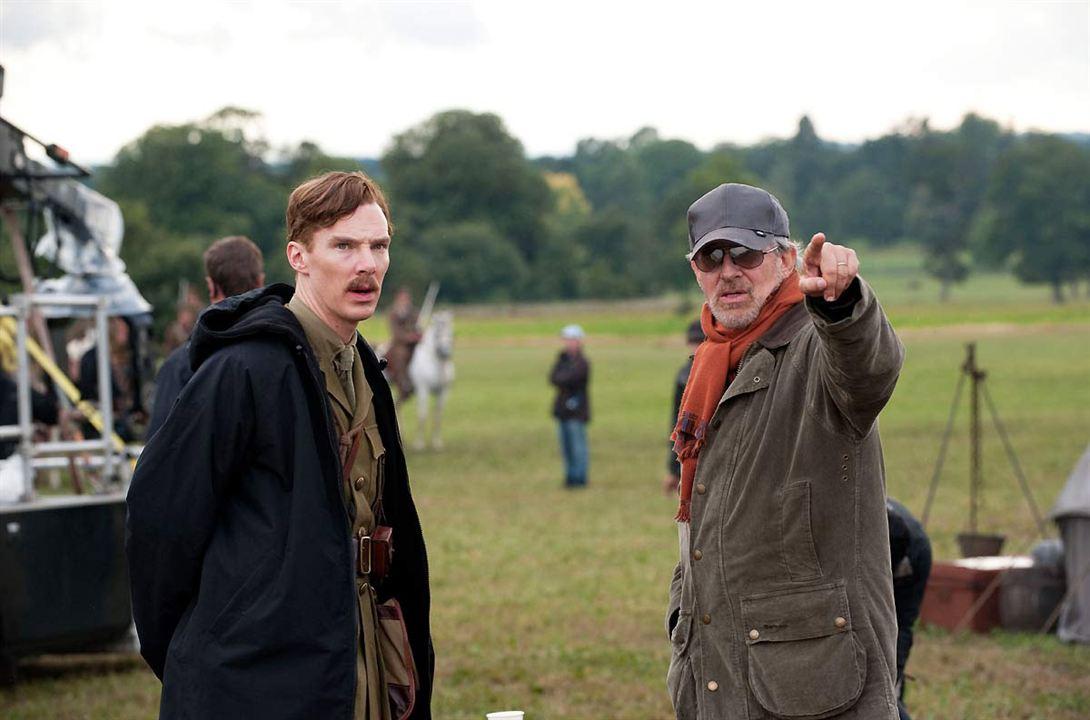 War Horse (Caballo de batalla) : Foto Benedict Cumberbatch, Steven Spielberg