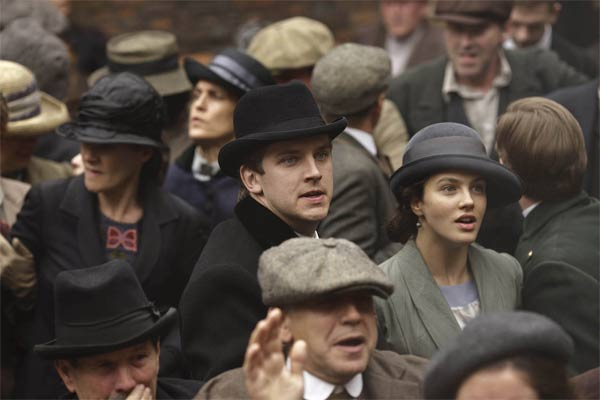 Downton Abbey : Foto Dan Stevens, Jessica Brown Findlay