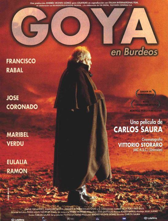 Goya en Burdeos : Cartel