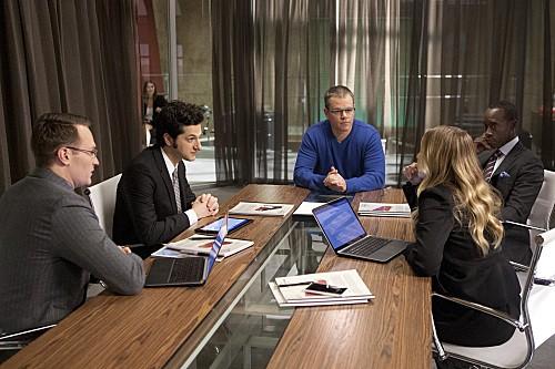 Foto Ben Schwartz, Don Cheadle, Josh Lawson, Kristen Bell, Matt Damon