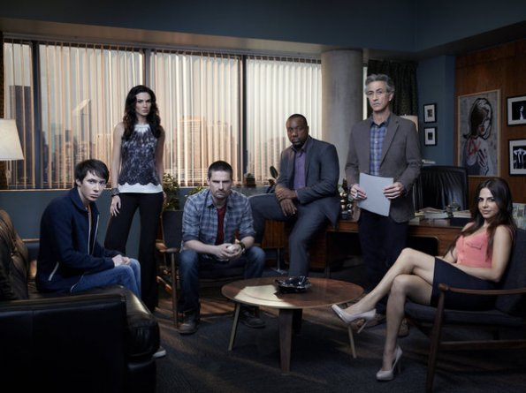 Foto David Strathairn, Laura Mennell, Malik Yoba, Ryan Cartwright, Warren Christie