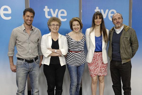 Los misterios de Laura : Foto Beatriz Carvajal, Fernando Guillén Cuervo, Laura Pamplona, Maria Pujalte, Oriol Tarrasón