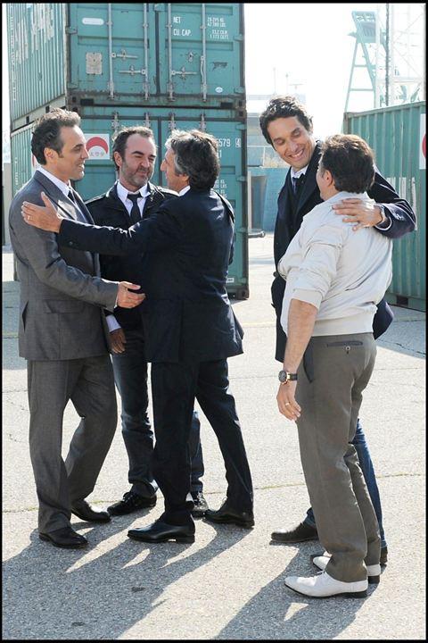 Foto Gilbert Melki, José Garcia, Richard Anconina, Thomas Gilou, Vincent Elbaz