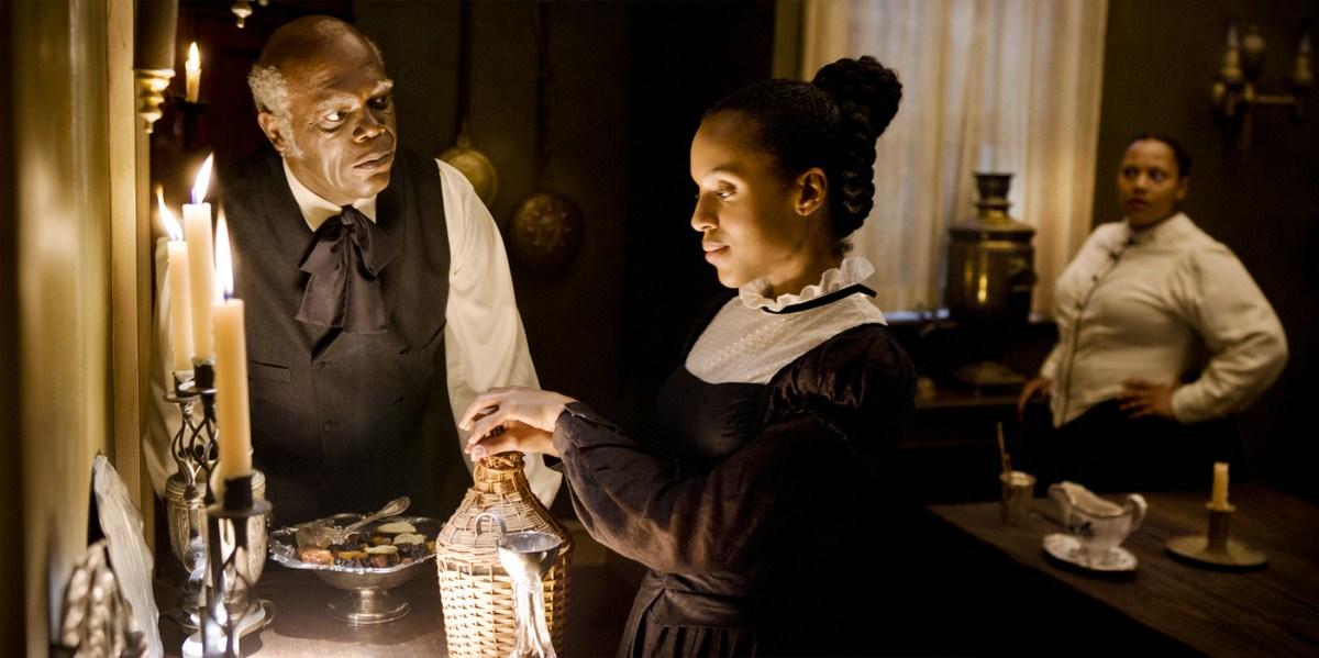 Django desencadenado : Foto Kerry Washington, Samuel L. Jackson
