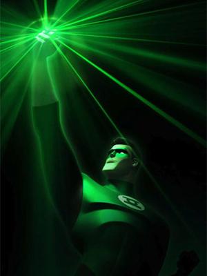 Linterna Verde: La serie animada : Cartel