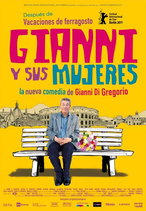 Gianni y sus mujeres : cartel