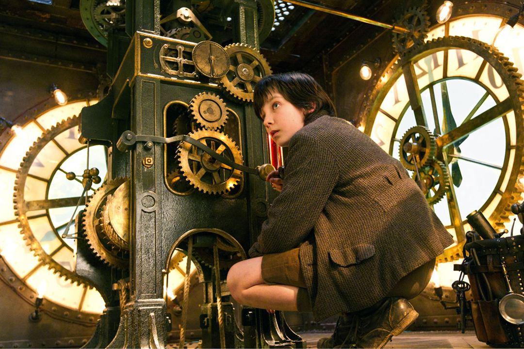 La invención de Hugo : Foto Asa Butterfield