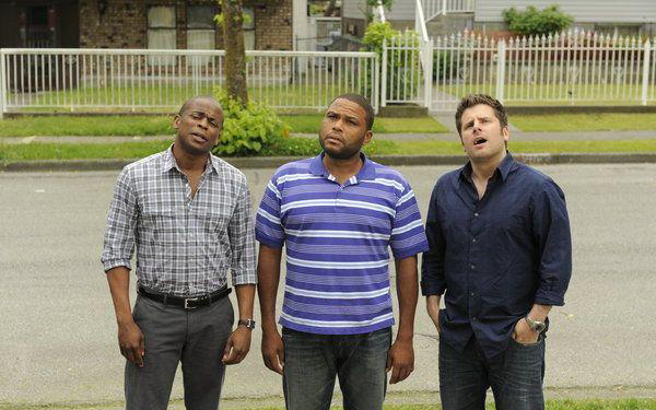 Foto Anthony Anderson, Dule Hill, James Roday