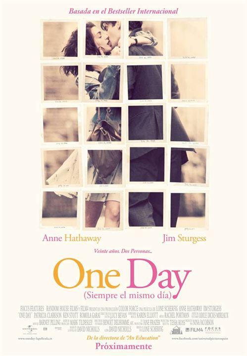 One Day (Siempre el mismo día) : Cartel