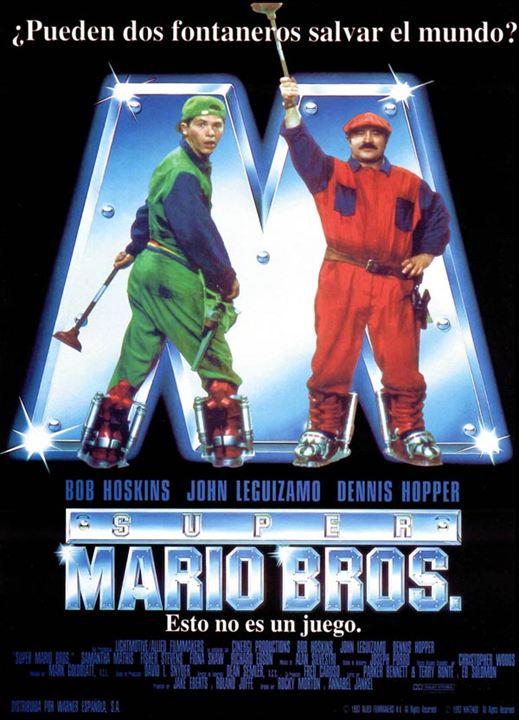 Super Mario Bros. : Cartel