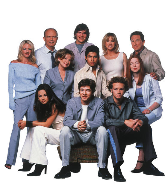 Aquellos maravillosos 70 : Foto Ashton Kutcher, Danny Masterson, Debra Jo Rupp, Don Stark, Kurtwood Smith