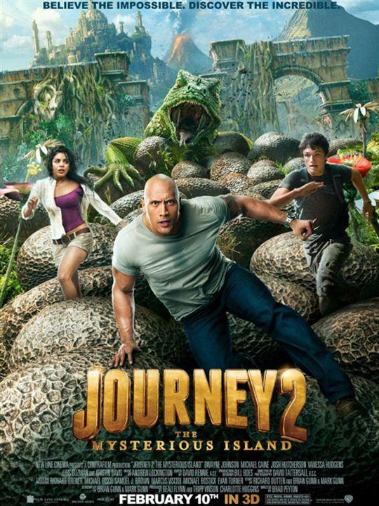 Viaje al centro de la Tierra 2: La isla misteriosa : cartel