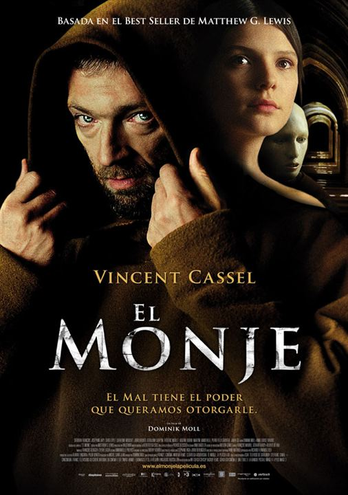 El monje : cartel