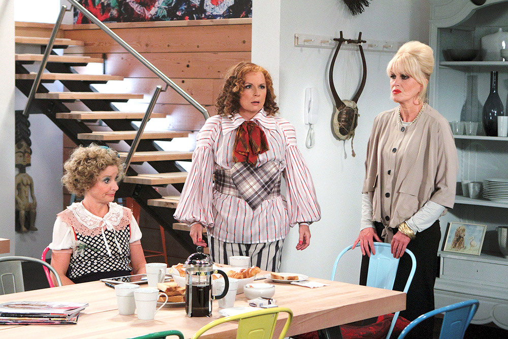 Foto Jane Horrocks, Jennifer Saunders, Joanna Lumley