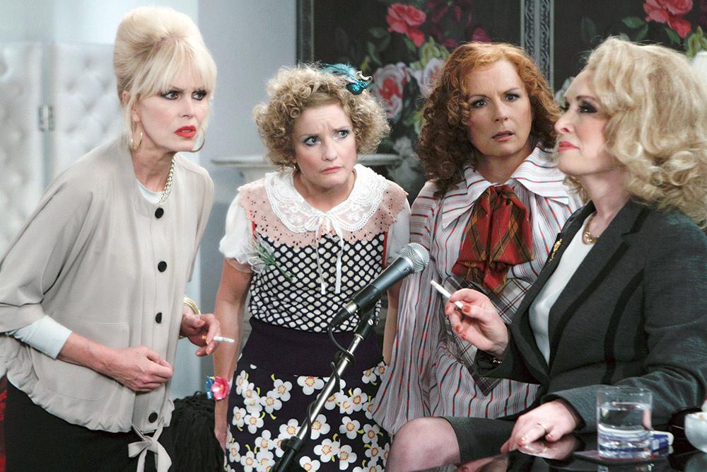 Foto Jane Horrocks, Jennifer Saunders, Joanna Lumley, Lindsay Duncan