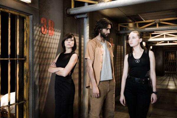 La Fuga : Foto Aitor Luna, María Valverde, Marián Álvarez