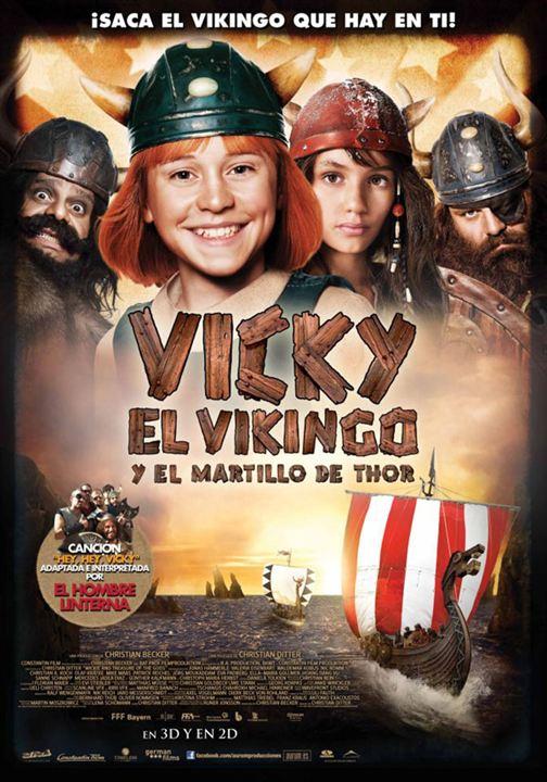 Vicky el vikingo y el martillo de Thor : Cartel