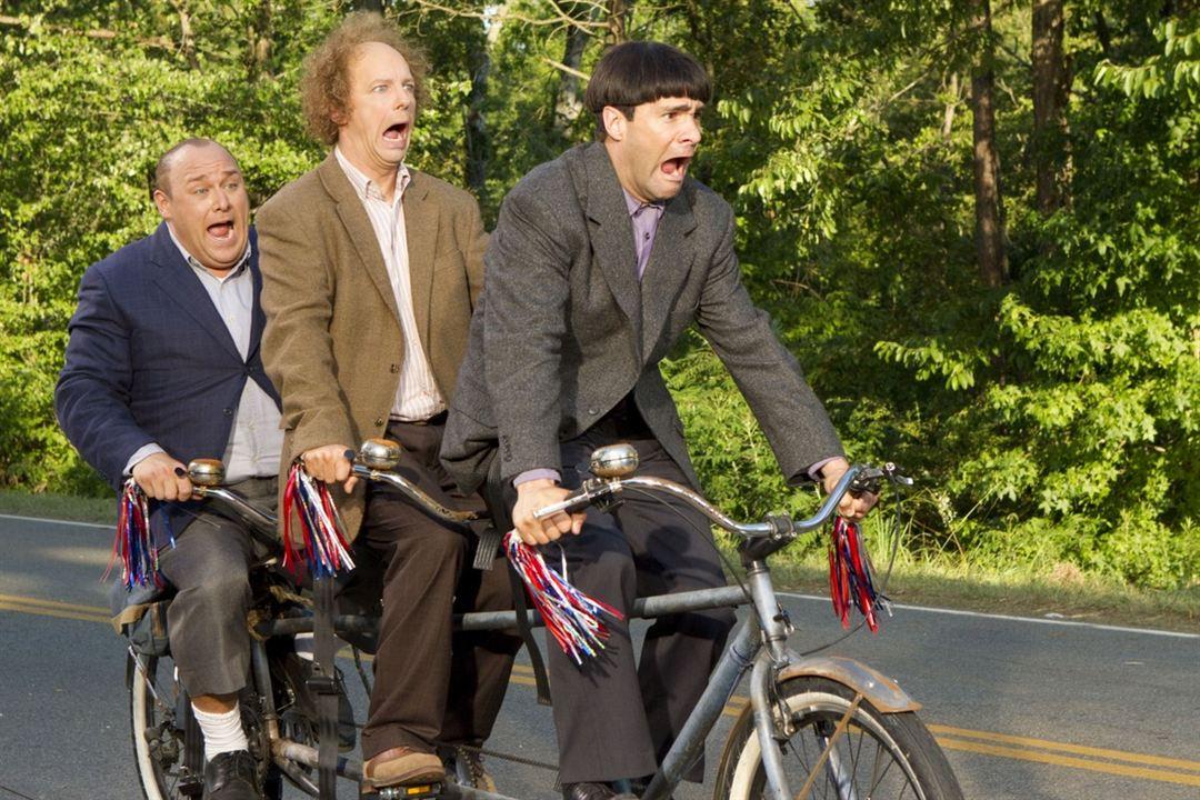 Los tres chiflados: Will Sasso, Chris Diamantopoulos, Sean Hayes