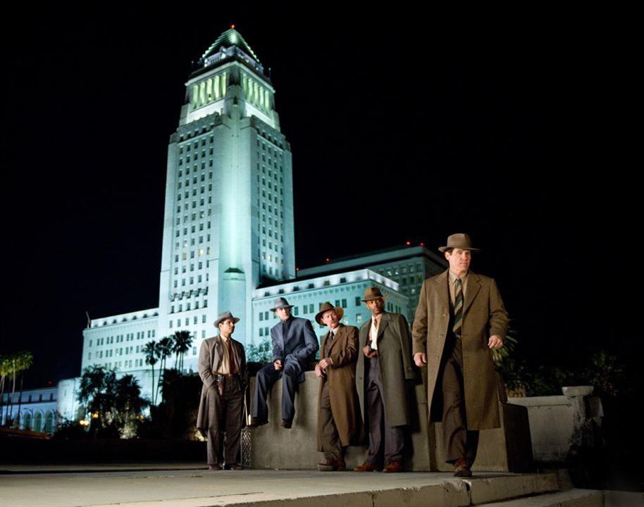 Gangster Squad (Brigada de élite) : Foto Anthony Mackie, Josh Brolin, Michael Peña, Robert Patrick, Ryan Gosling