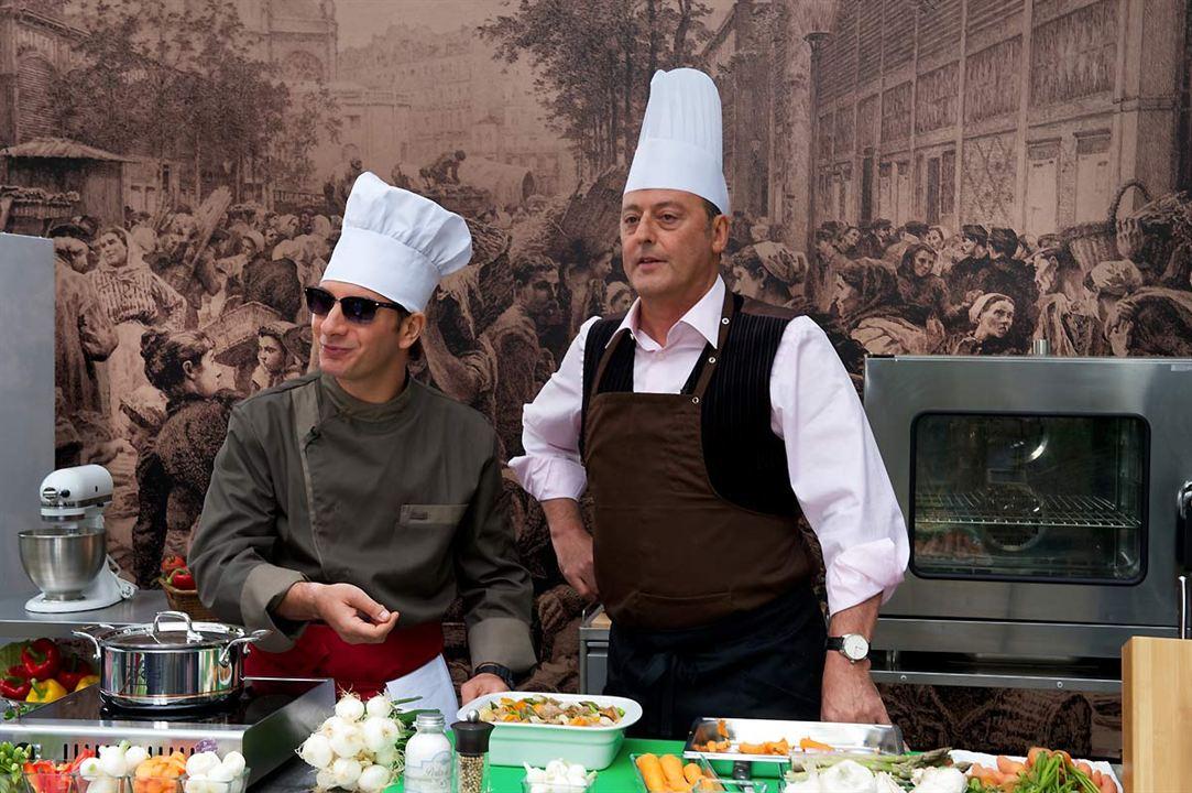 El chef, la receta de la felicidad : Foto Daniel Cohen, Jean Reno, Michaël Youn