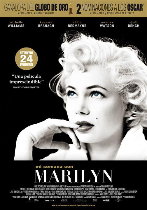 Mi semana con Marilyn : cartel
