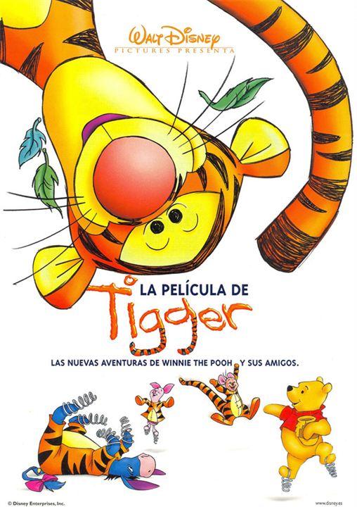 La película de Tigger : cartel