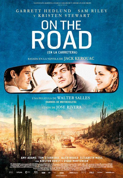 On the road (En la carretera) : Cartel