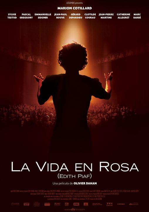 La vida en rosa (Edith Piaf) : cartel