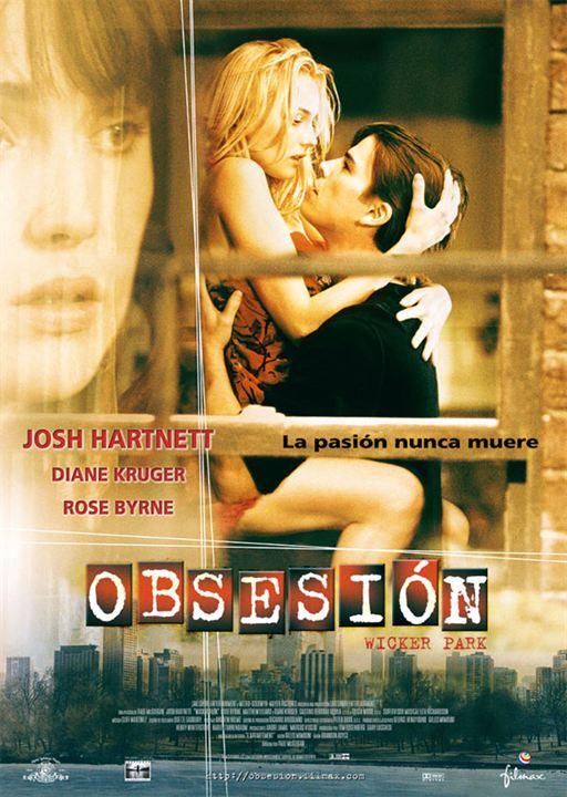 Obsesión : Cartel