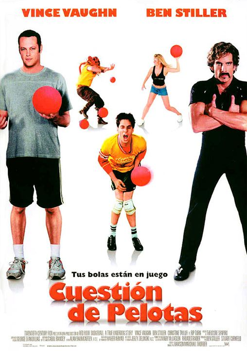 Cuestión de pelotas : cartel