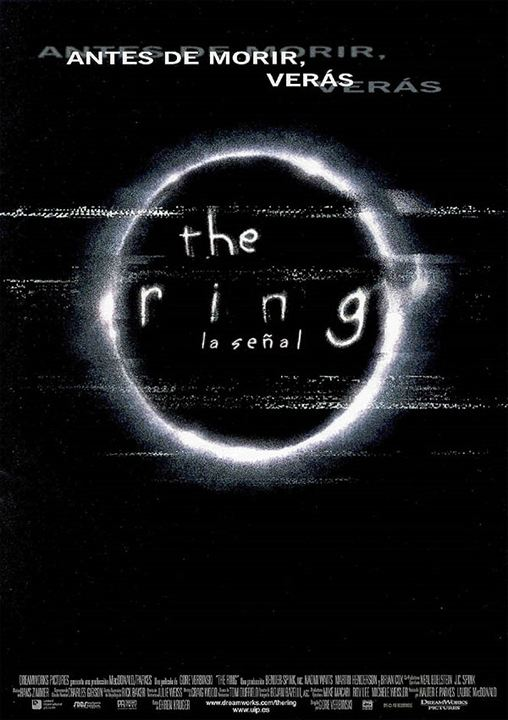 Resultado de imagen de the ring 1 cartelera