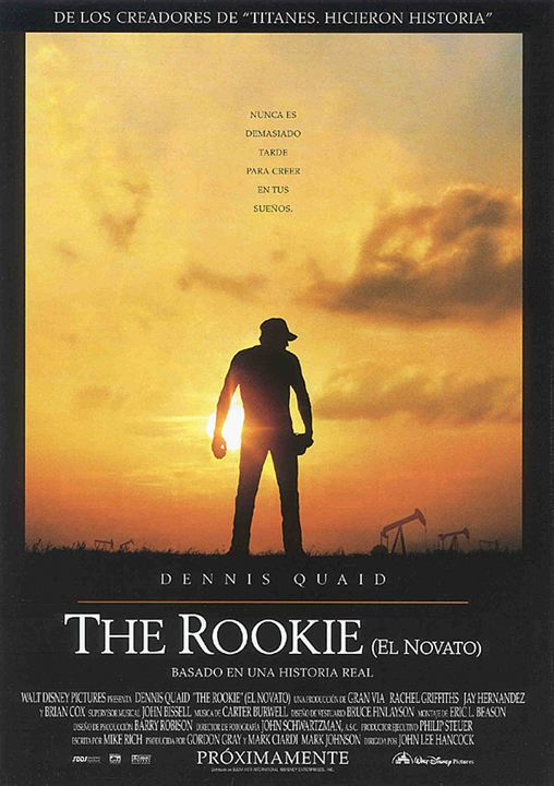 The Rookie (El novato) : cartel