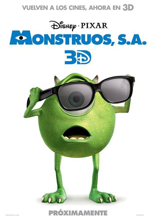 Monstruos, S.A. : Cartel