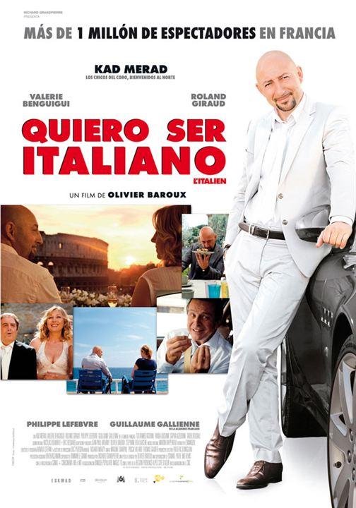 Quiero ser italiano : Cartel