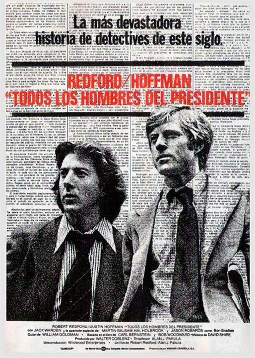 Todos los hombres del presidente : Cartel