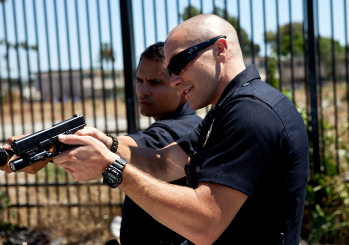 Sin tregua (End of watch) : Foto Jake Gyllenhaal, Michael Peña