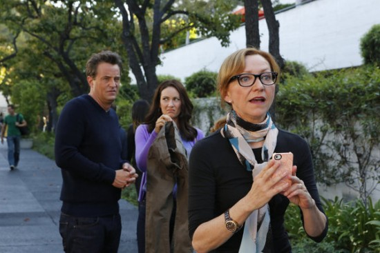 Foto Julie White, Laura Benanti, Matthew Perry