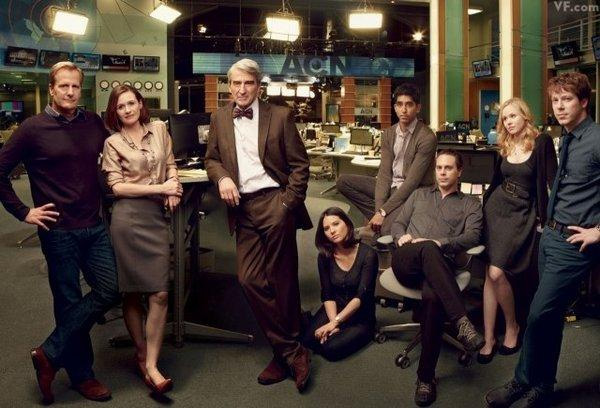 Foto Alison Pill, Dev Patel, Emily Mortimer, Jeff Daniels, John Gallagher Jr.