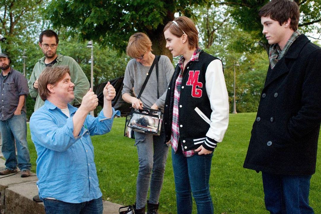 Las ventajas de ser un marginado : Foto Emma Watson, Logan Lerman, Stephen Chbosky