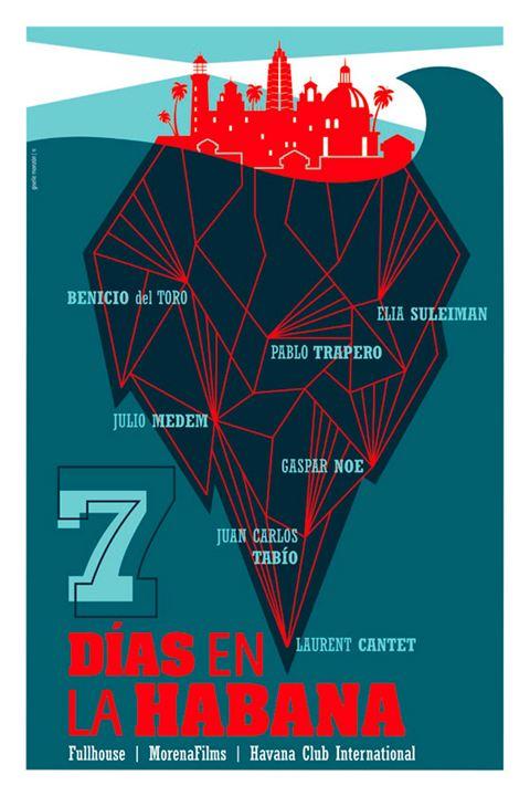 7 días en la Habana : Cartel