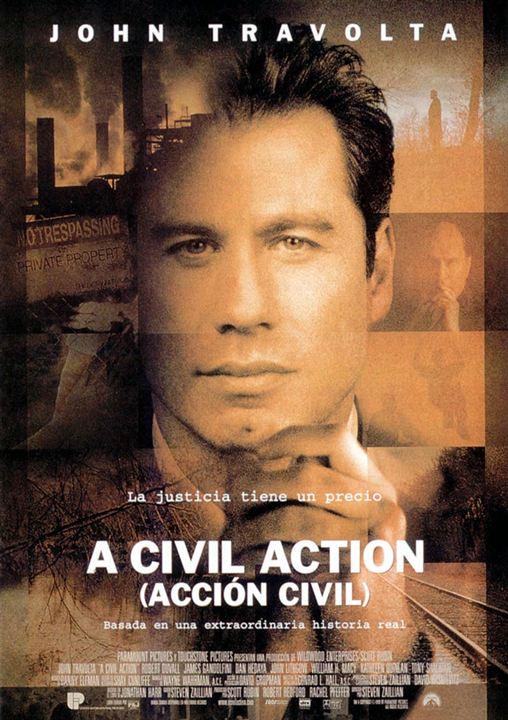 A Civil Action (Acción civil) : Cartel